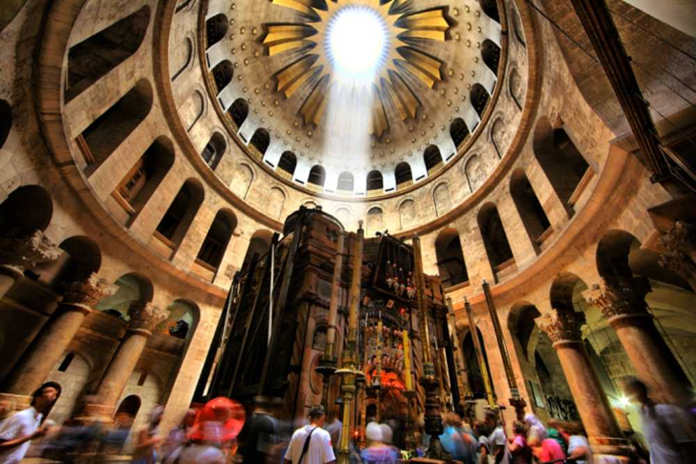 Church of the Holy Sepulcher in Jerusalem