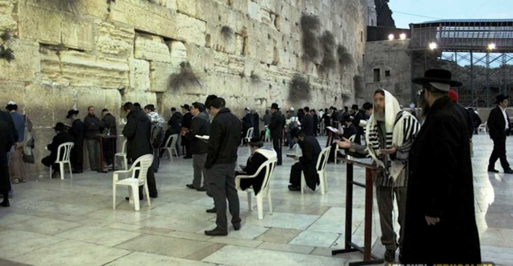 kabbalat shabbat at the western wall itraveljerusalem