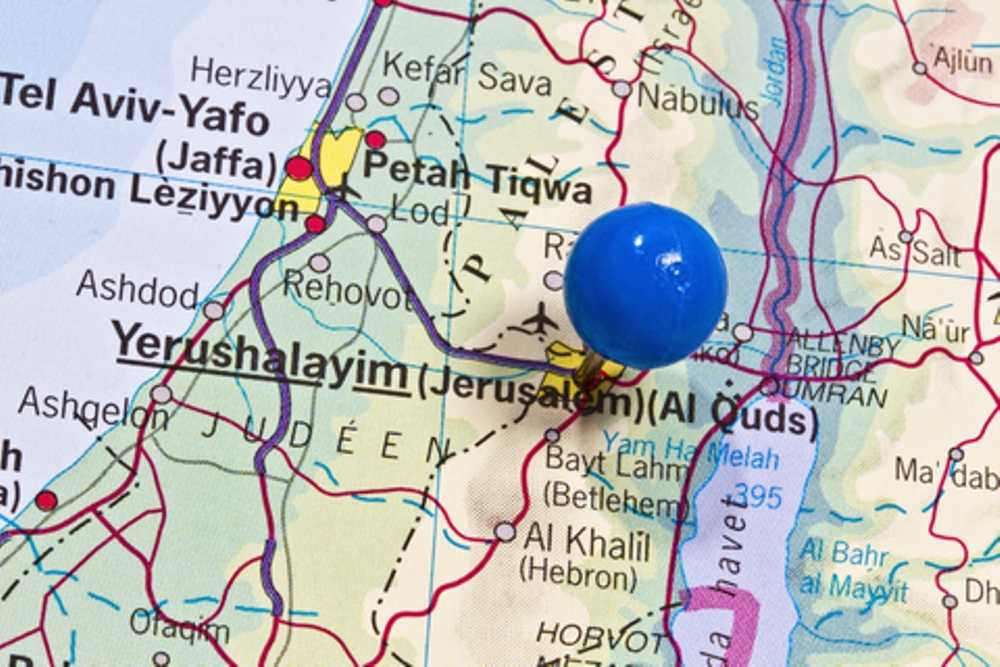 Israel And Pilgrimage Maps Getting Around - Jerusalem map world
